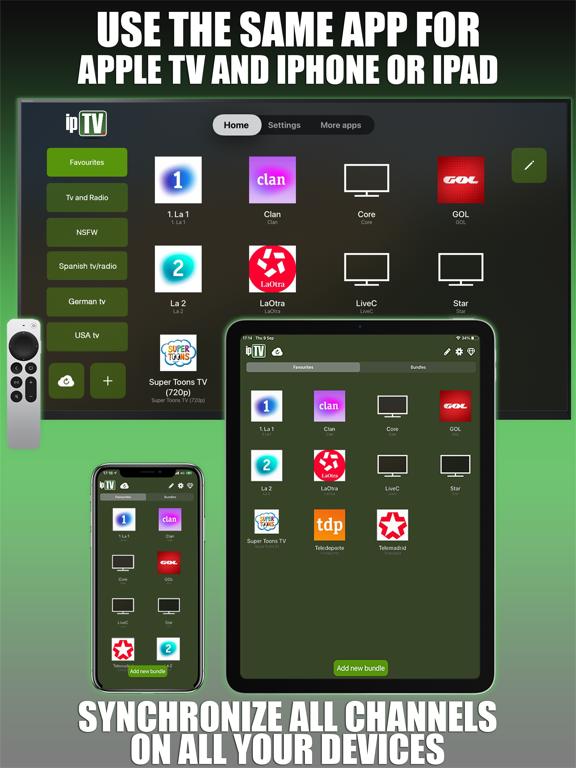 ipTV Pro Player Tv screenshot 6