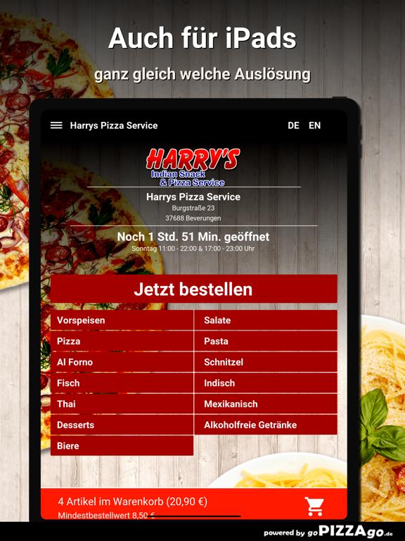 Harrys Pizza Beverungen screenshot 7