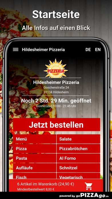 Hildesheimer Pizzeria Hildeshe screenshot 2