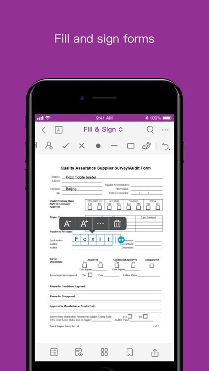 Foxit PDF Editor Intune screenshot-5