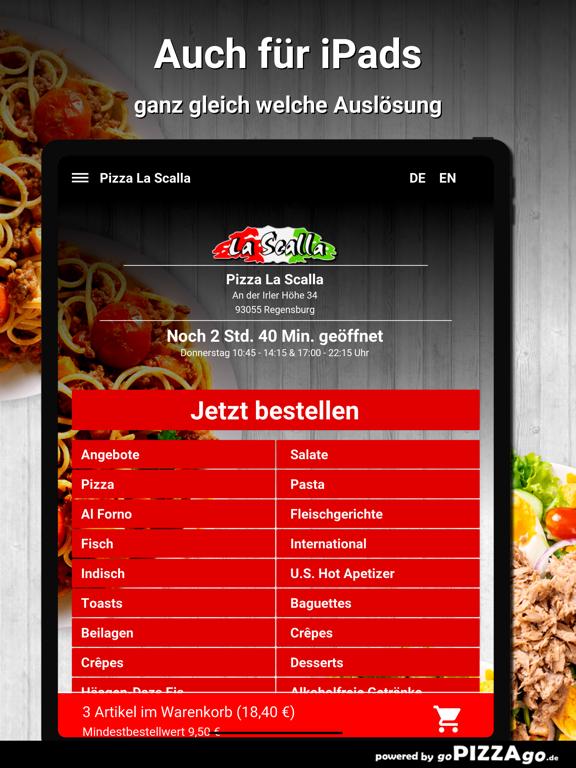 Pizza La Scalla Regensburg screenshot 7