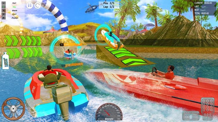 Speed Boat Driving Game 2021 screenshot-7