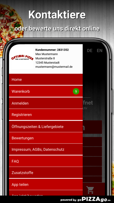 Optimal Pizza München screenshot 3