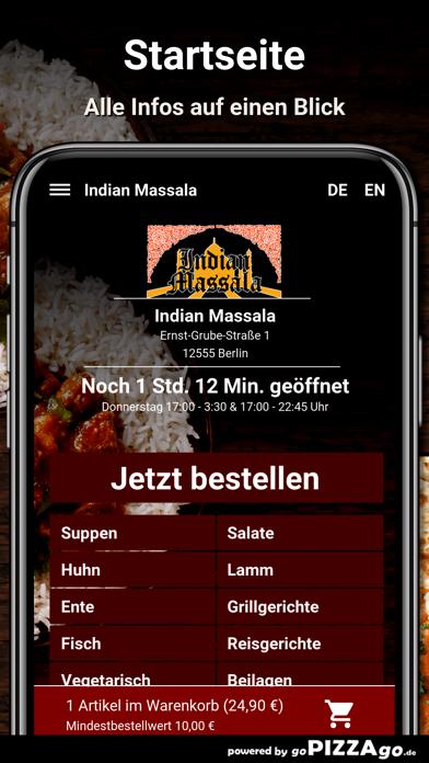 Indian Massala Berlin screenshot 2