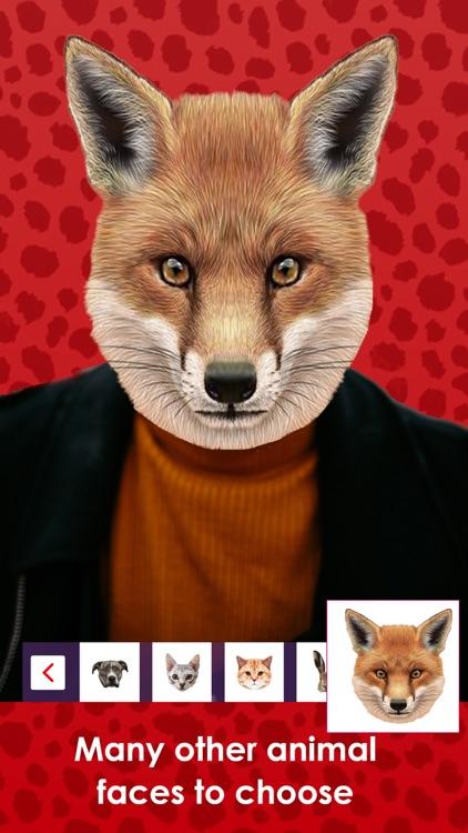 Huminal Animal Face PhotoMaker screenshot-3