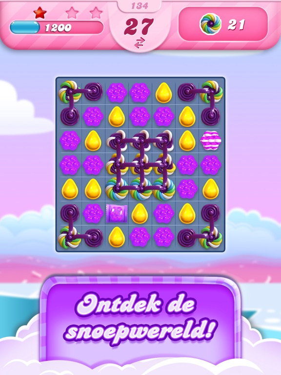 Candy Crush Saga iPad app afbeelding 2