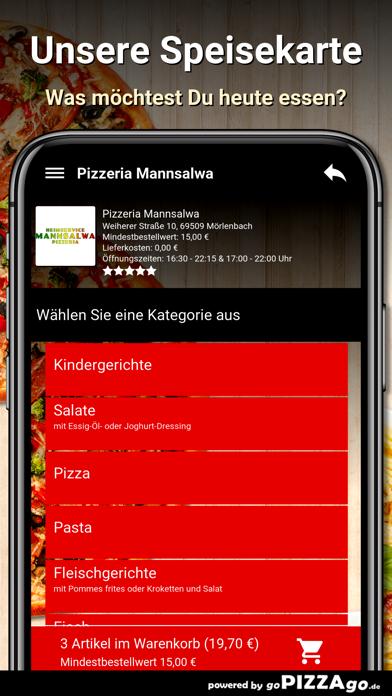 Pizzeria Mannsalwa Mörlenbach screenshot 4