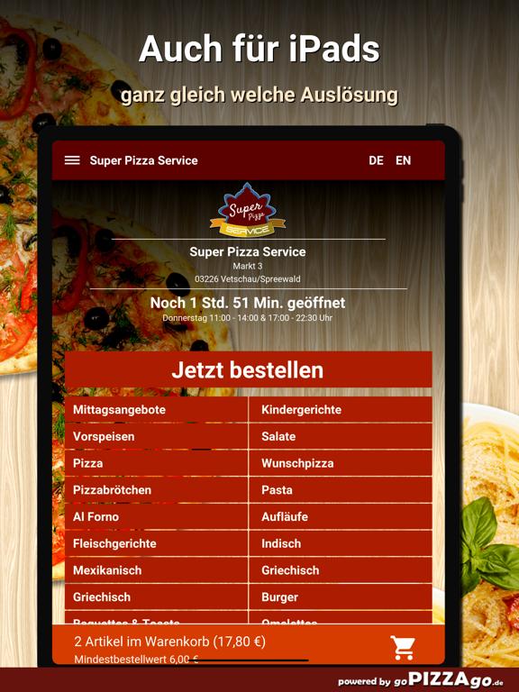Super Pizza Vetschau/Spreewald screenshot 7