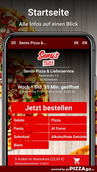Semis Pizza Herborn screenshot 2