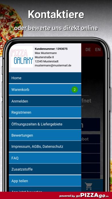 Pizza-Galaxy Steinbach screenshot 3