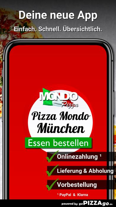 Pizza Mondo München screenshot 1