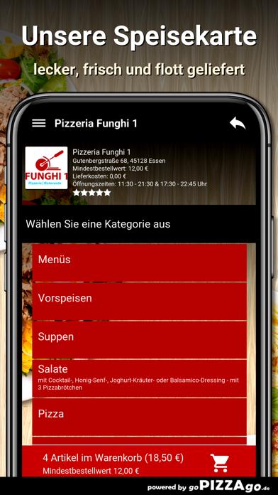 Pizzeria Funghi 1 Essen screenshot 4