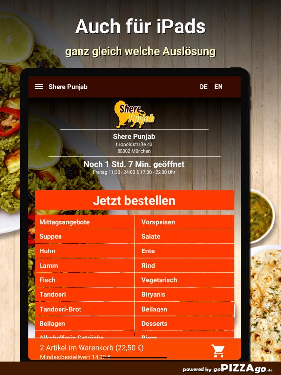 Shere Punjab München screenshot 7