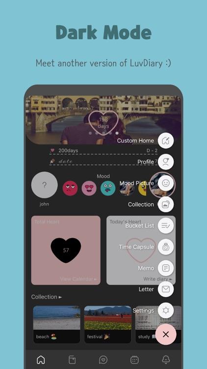 LuvDiary - Couple relationship screenshot-9