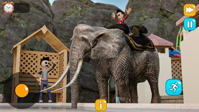 Waterslide Uphill Park 3d Sims Screenshot on iOS