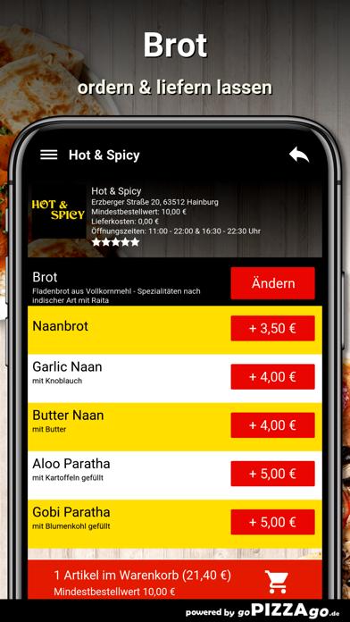 Hot & Spicy Hainburg screenshot 6