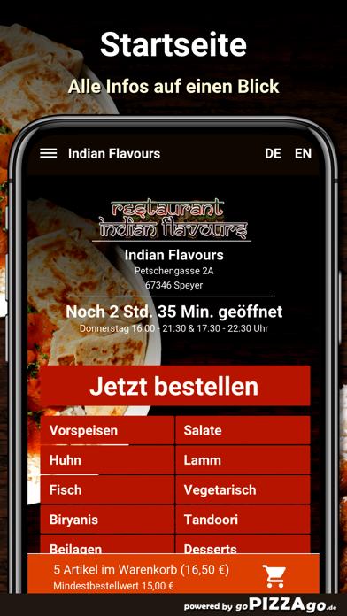 Indian Flavours Speyer screenshot 2