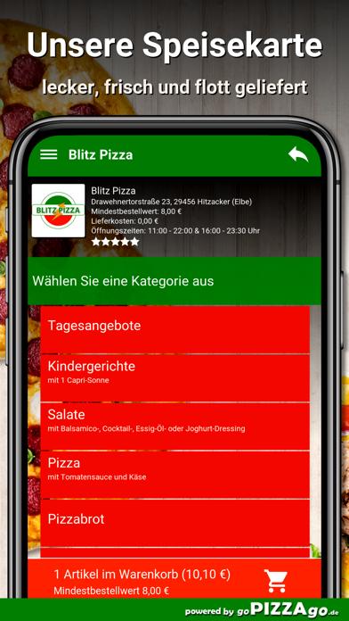 Blitz Pizza Hitzacker (Elbe) screenshot 4