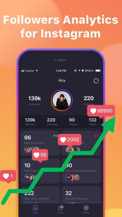 Follower Track for Instagram+