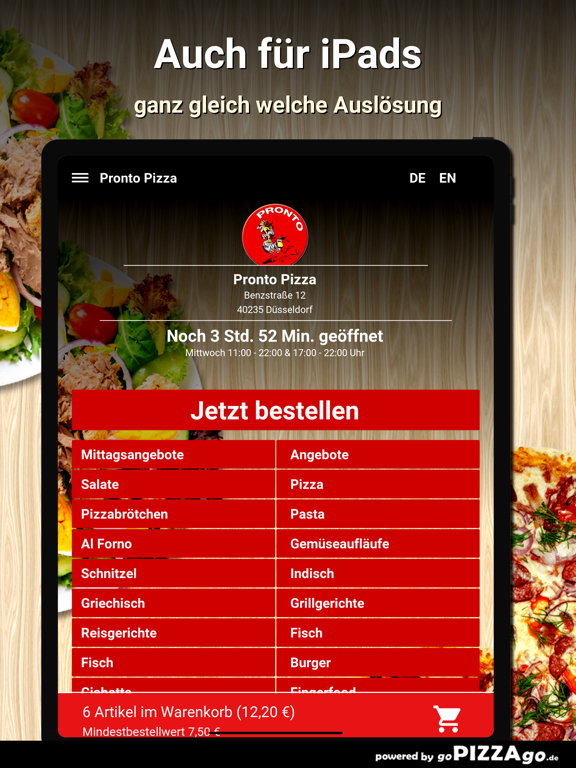 Pronto Pizza Düsseldorf screenshot 7