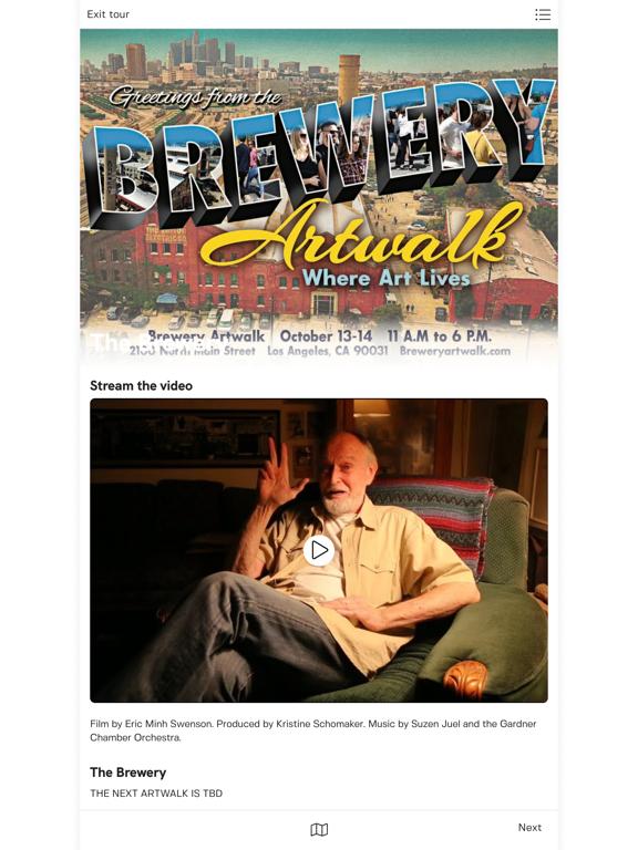 Brewery Artwalk App screenshot 7