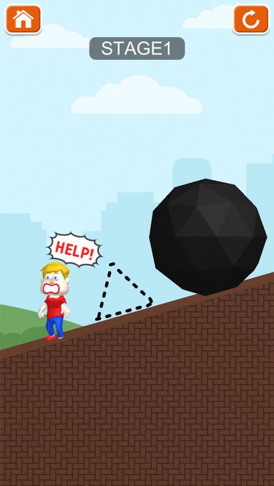暇つぶしゲームパズルクソゲー - Save them allのおすすめ画像3