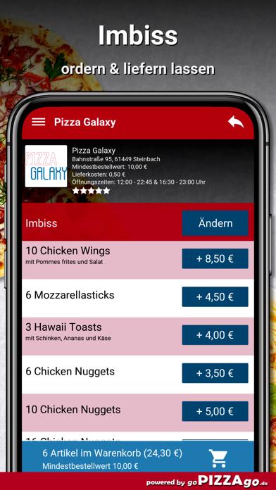Pizza-Galaxy Steinbach screenshot 6