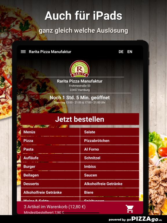 Rarita Pizza Hamburg screenshot 7