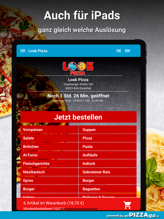 Look Pizza Köln Ehrenfeld screenshot 7