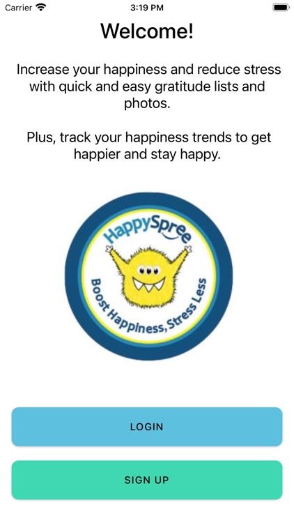 HappySpree Gratitude Journal