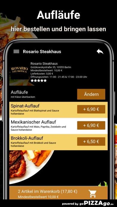Rosario Steakhaus Berlin screenshot 6