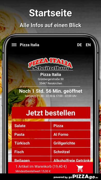 Pizza Italia Reiskirchen screenshot 2