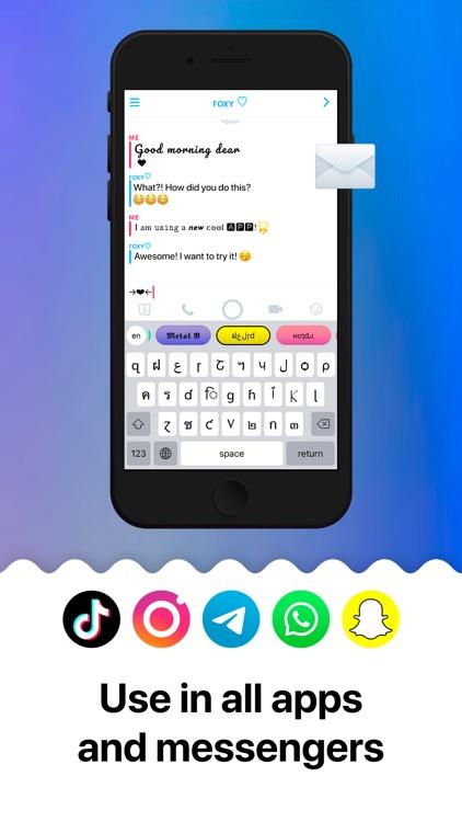 Keyboards & Emojis
