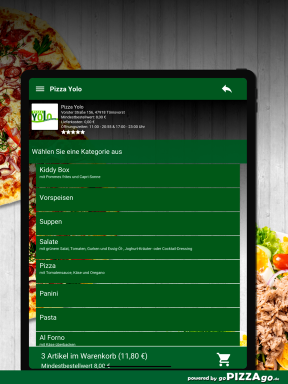 Pizza Yolo Tönisvorst screenshot 8