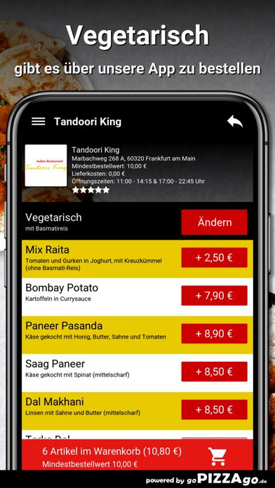 Tandoori-King Frankfurt screenshot 2