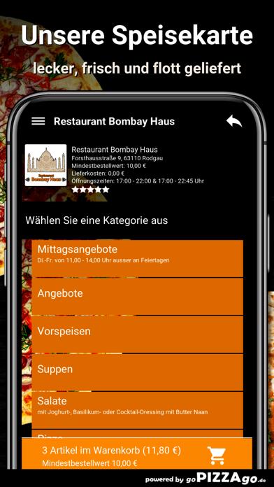 Restaurant Bombay Haus Rodgau screenshot 5