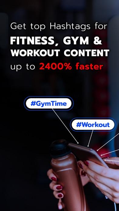 Fitness Hashtags App 1