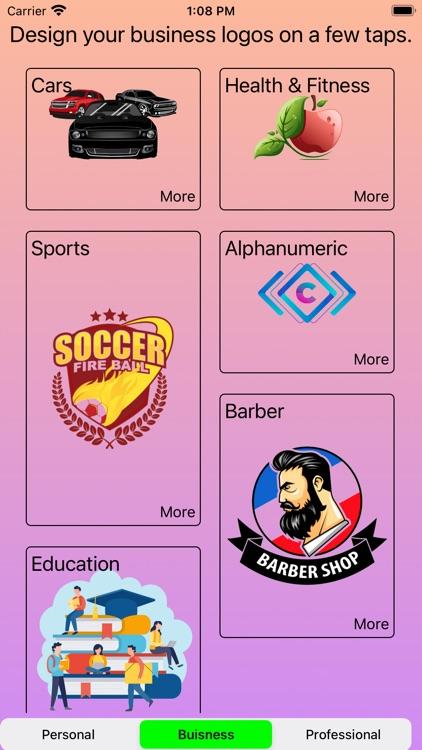 Logo Maker Shop~Design Creator screenshot-7