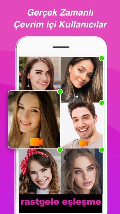 LivU-Videoda konuş, arkadaş ol iphone ekran görüntüleri