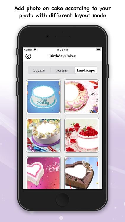 Birthday Photo Frame & Sticker