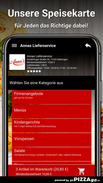 Annas Lieferservice Böblingen screenshot 4