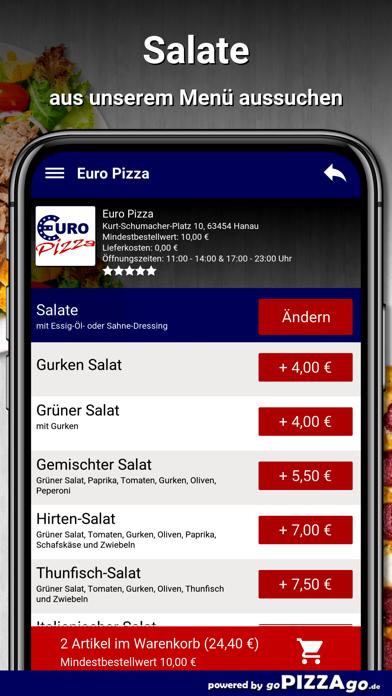 Euro Pizza Hanau screenshot 5