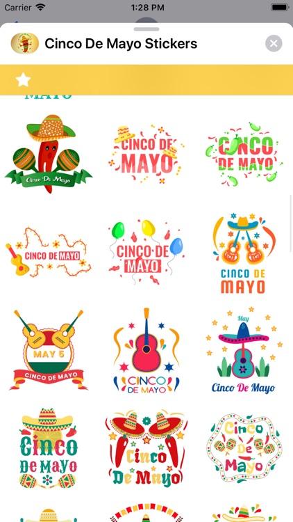 Cinco de Mayo Stickers screenshot-4