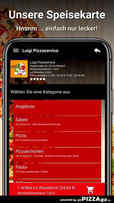Luigi Pizzaservice Meldorf screenshot 6