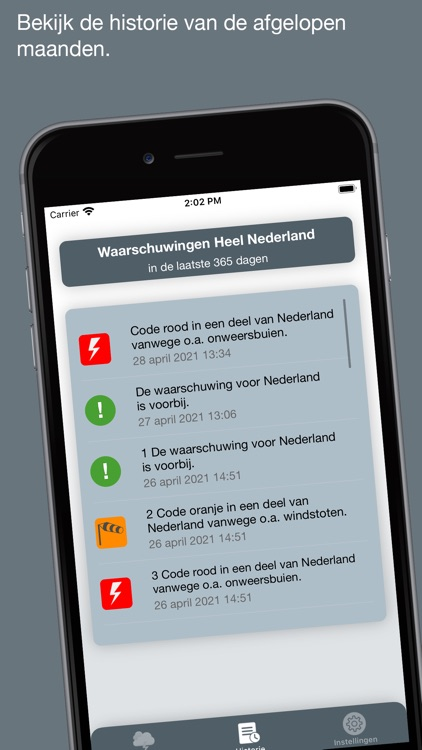 Weeralarm Nederland screenshot-3