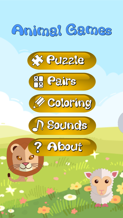 Animal Games Puzzle Sounds etc screenshot 1
