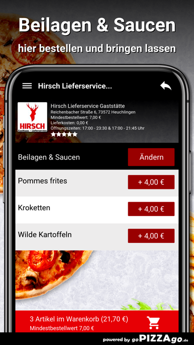 Hirsch Heuchlingen screenshot 6