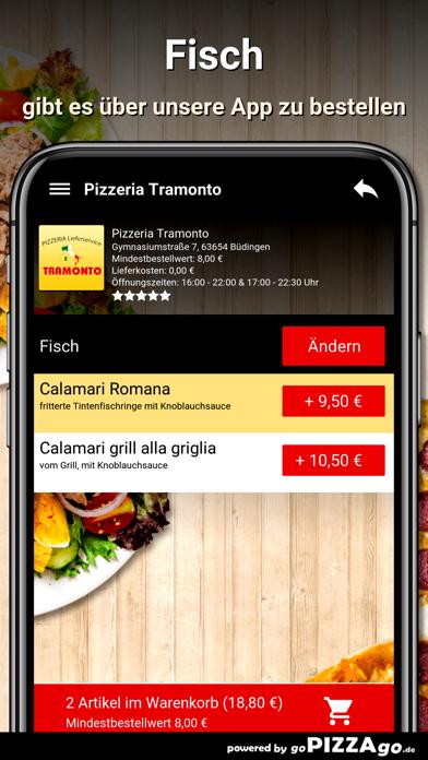 Pizzeria Tramonto Büdingen screenshot 6