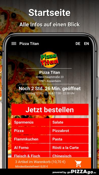 Pizza Titan Kippenheim screenshot 2