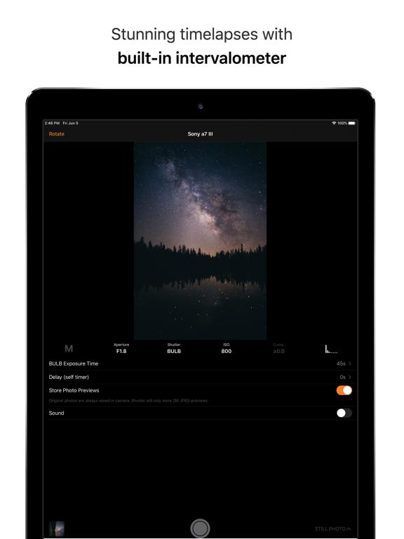 Shutter - Canon EOS Remote screenshot 12